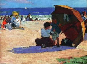 Edward Henry Potthast - Making Repairs
