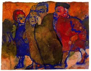 Emile Nolde - Group of People