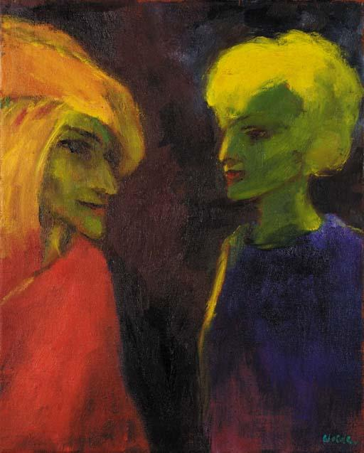 Light magic by Emile Nolde (1867-1956, Germany)