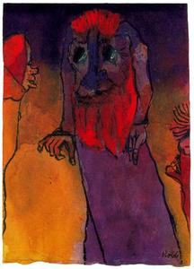 Emile Nolde - Red-bearded Treeman
