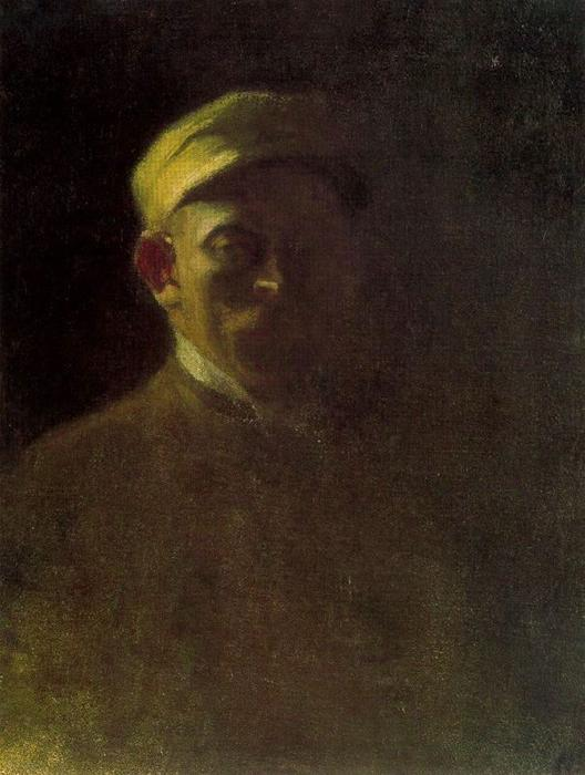 Self-portrait by Emile Nolde (1867-1956, Germany) | Museum Quality Reproductions | ArtsDot.com