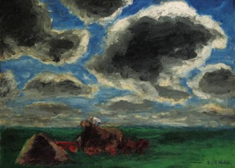 Summer (with hay) by Emile Nolde (1867-1956, Germany) | Museum Art Reproductions | ArtsDot.com