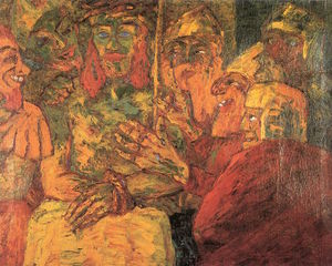 Emile Nolde - The Mocking of Christ
