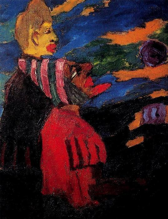 Vagrants by Emile Nolde (1867-1956, Germany)