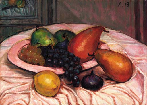 Still life by Emile Bernard (1868-1941, France)