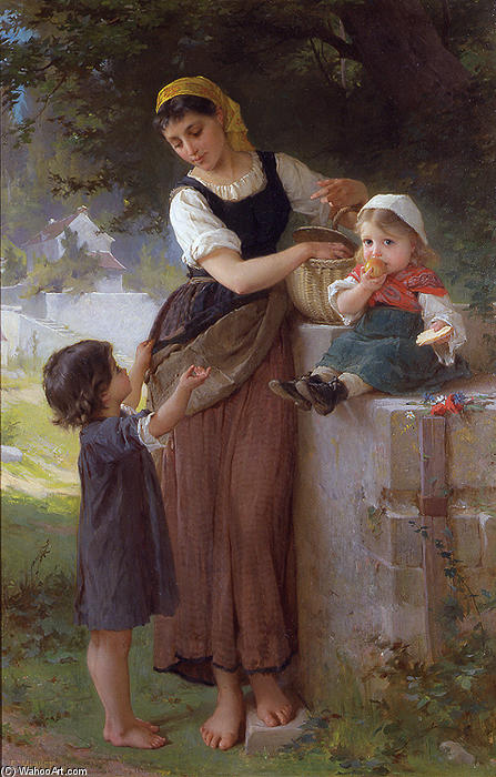 May I Have One Too by Emile Munier (1840-1895, France)