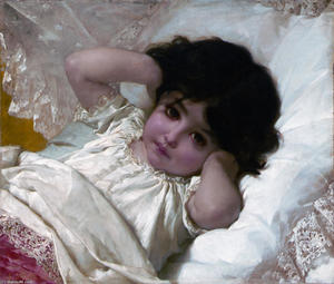 Emile Munier - Portrait of Marie­Louise