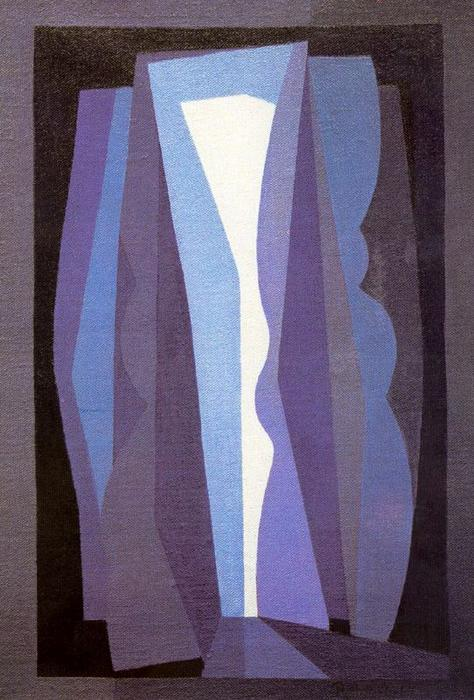 Night by Emilio Pettoruti (1892-1971, Argentina)