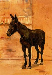 Ferdinand Hodler - Mule in Madrid