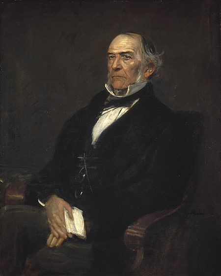 William Ewart Gladstone by Franz Seraph Von Lenbach (1836-1904, Germany)