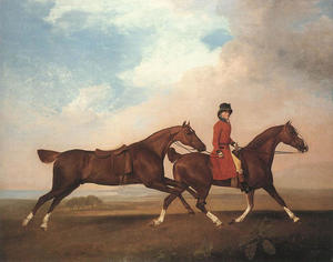 George Stubbs - William Anderson with Two..