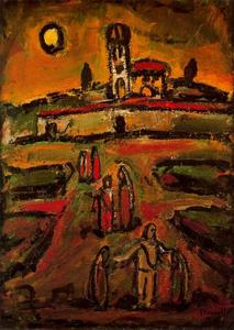 Georges Rouault - End of Autumn 1