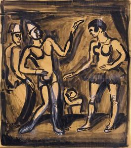 Georges Rouault - The parade