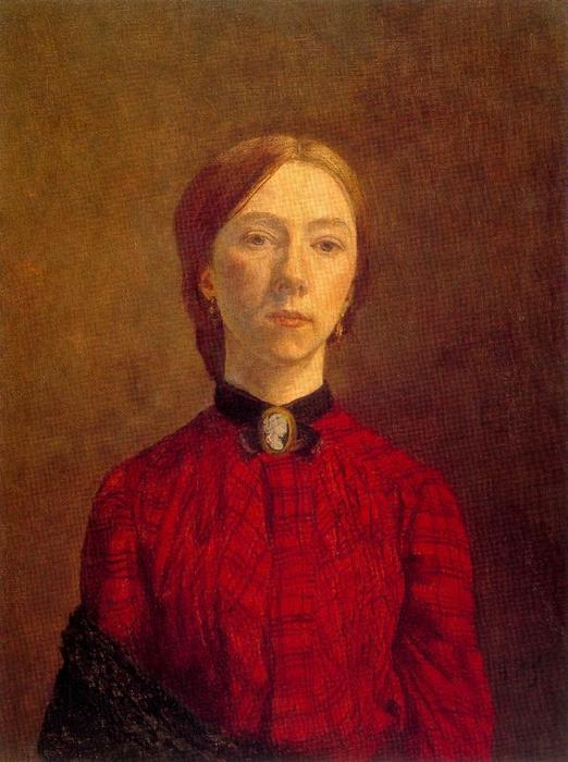 Self-portrait by Gwen John (1876-1939, United States)