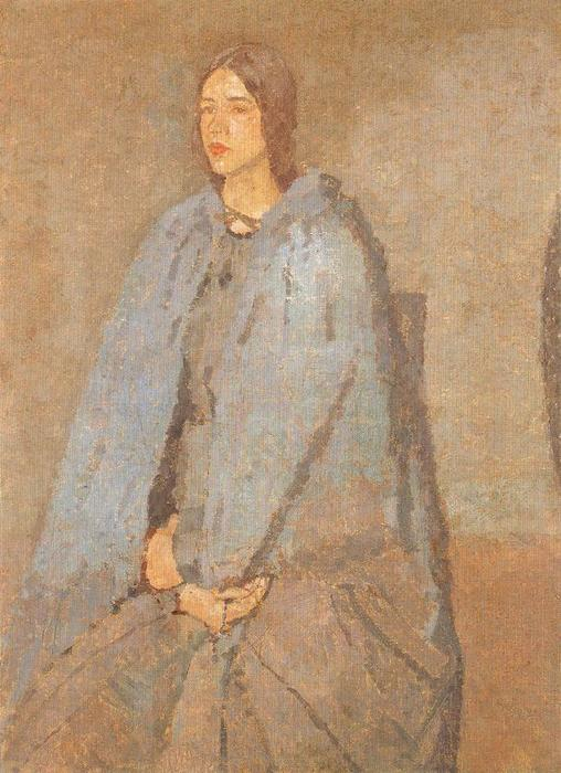 The Pilgrim by Gwen John (1876-1939, United States)