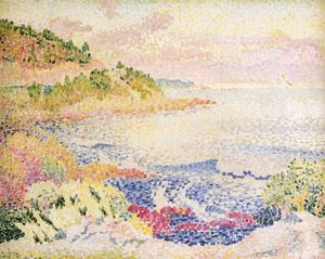 Henri Edmond Cross - Coast of Provence, Le Fou..