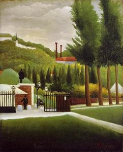 Henri Julien Félix Rousseau (Le Douanier) - The Customs House