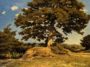 Henri-Joseph Harpignies - The Big Tree