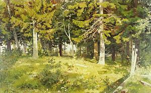 Ivan Ivanovich Shishkin - Glade in a forest