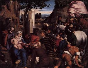 Jacopo Bassano (Jacopo Da.. - Adoration of the Kings