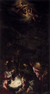 Jacopo Bassano (Jacopo Da Ponte) - Adoration of the Shepherds 2