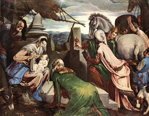Jacopo Bassano (Jacopo Da Ponte) - The Three Magi