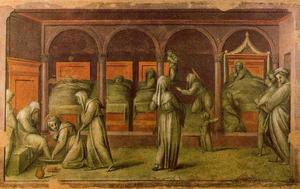 Jacopo Carucci (Pontormo) - Episode from Hospital Life