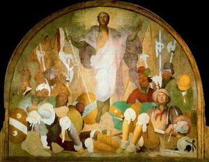 Jacopo Carucci (Pontormo) - The Resurrection of Christ