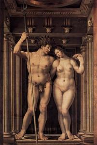 Jan Gossaert (Mabuse) - Neptune and Amphitrite