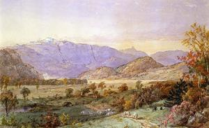 Jasper Francis Cropsey - Early Snow on Mount Washington