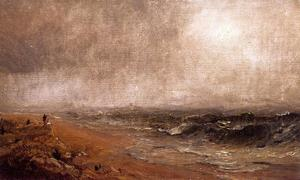 Jasper Francis Cropsey - Looking out to Sea