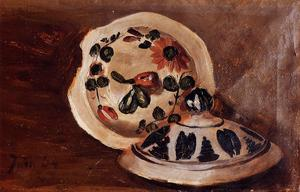 Jean Frederic Bazille - Soup Bowl Covers
