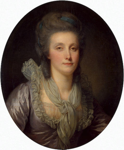 Portrait of Countess Ekaterina Shuvalova by Jean-Baptiste Greuze (1725-1805, France) | Museum Quality Reproductions | ArtsDot.com