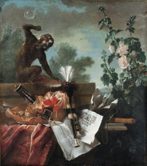 An Allegory of Air by Jean-Baptiste Oudry (1686-1755, France) | ArtsDot.com
