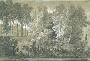 Jean-Baptiste Oudry - View of the Arcueil Park