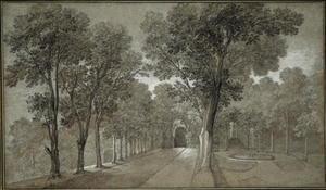 Jean-Baptiste Oudry - View of the Park at Arcueil