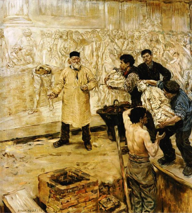 At the Foundry by Jean-François Raffaelli (1850-1924, France) | Museum Art Reproductions | ArtsDot.com