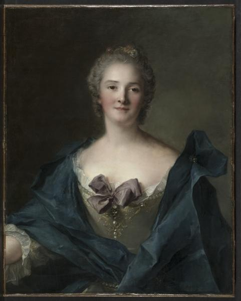 Portrait of a Woman by Jean-Marc Nattier (1685-1766, France)