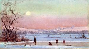 Jervis Mcentee - Ice Skating near Hudson