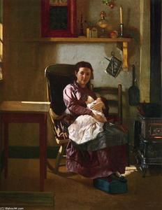 John George Brown - The Young Mother