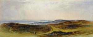 John Martin - The Valley of the Tyne, My Native Country, near Henshaw