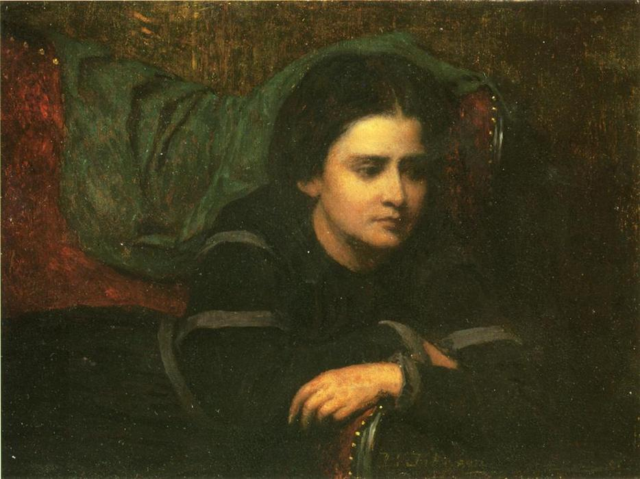 Cachette by Jonathan Eastman Johnson (1824-1906, United Kingdom) | Museum Art Reproductions | ArtsDot.com