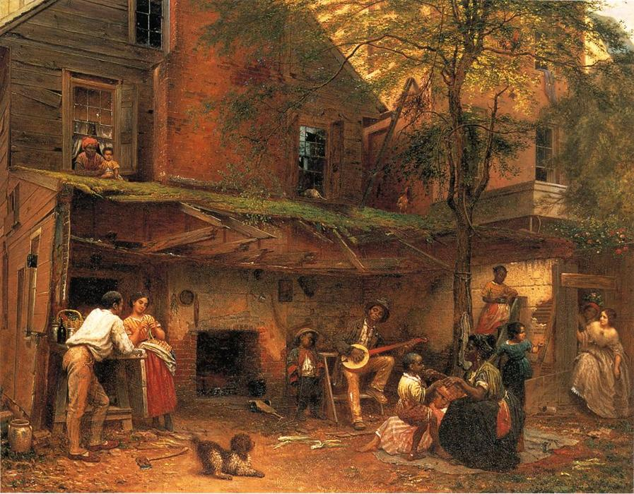 Life in the South (aka My Old Kentucky Home) by Jonathan Eastman Johnson (1824-1906, United Kingdom)
