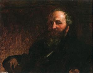 Jonathan Eastman Johnson - Portrait of James G. Wilson
