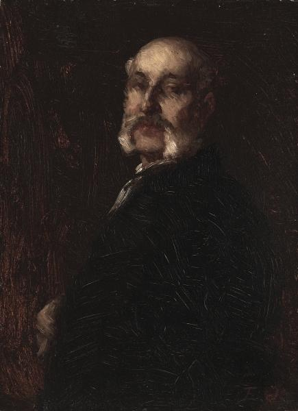 Samuel W. Rowse by Jonathan Eastman Johnson (1824-1906, United Kingdom)
