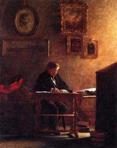 Jonathan Eastman Johnson - Self Portrait 1