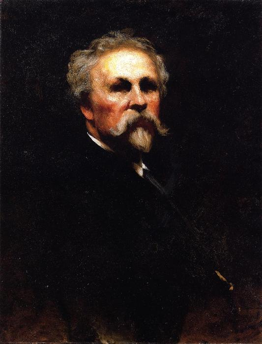 Self Portrait 2 by Jonathan Eastman Johnson (1824-1906, United Kingdom) | Painting Copy | ArtsDot.com
