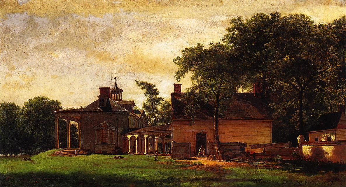The Old Mount Vernon by Jonathan Eastman Johnson (1824-1906, United Kingdom) | Museum Quality Reproductions | ArtsDot.com