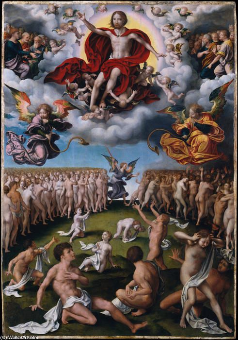 The Last Judgment by Joos Van Cleve (1485-1540, Germany) | Oil Painting | ArtsDot.com