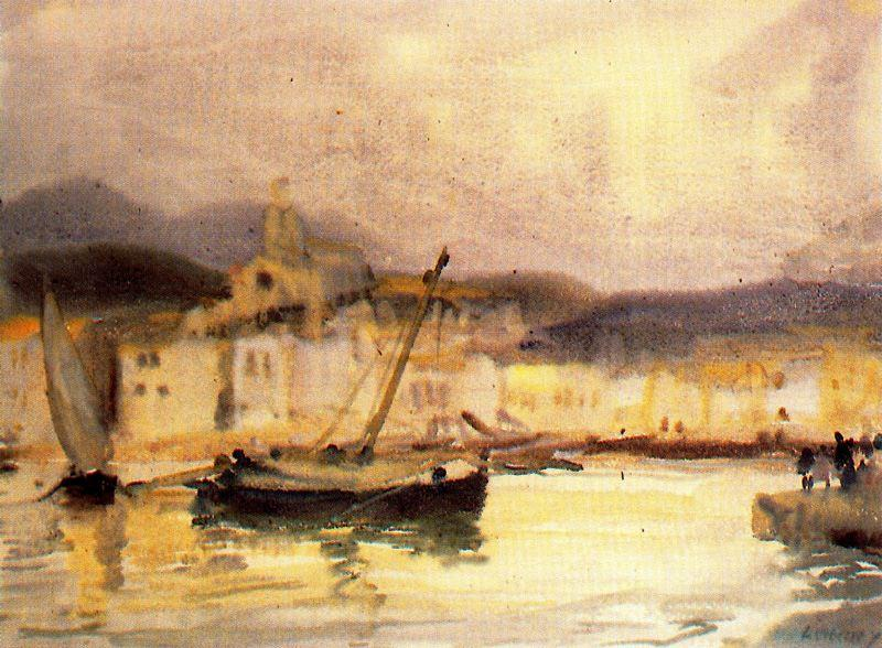 Cadaqués 1 by Jorge Apperley (George Owen Wynne Apperley) (1884-1960, United Kingdom) | Art Reproduction | ArtsDot.com